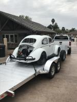 1961 ragtop off to stereo installers
