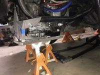 Battle Jitney Syncro skid plate and mustache bar reinforcment - round 2