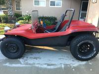 Red Manx Buggy
