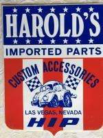 Harold's Decal Sticker