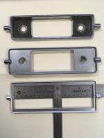 Larger radio faceplate for new radios 58 - 67