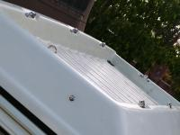 New cargo bin stainless tie downs