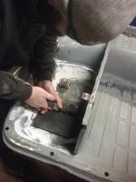 T3 battery tray