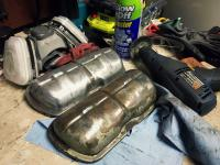 Fan Shroud and Engine Tin