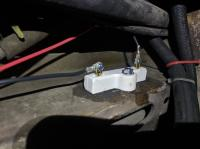 ballas resistor for fuel pump buzzing cavitation