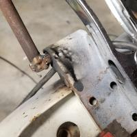 1966 Bus Passenger Door Pin Hinge Removal