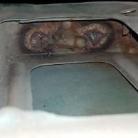 1966 Bus Passenger Door Hinge