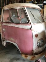 1960 SWR Single Cab Passenger Door Repaint Removal Back To Original Paint