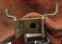 Vanagon Shift Linkage Fork Dimension
