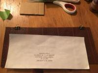 Seat Material Wallet