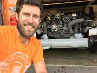Buddy's new engine