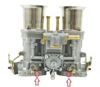 Weber Vacuum ports
