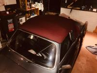 1972 convertible hood trial fit