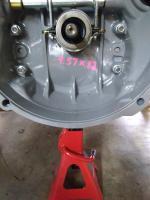 1969 VW throw out bearing shaft