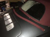 1972 convertible - hood windlace