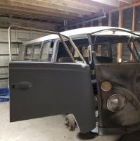 1966 Bus Front Door Fitting