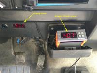 4th gear oil track sensor location