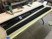 Assembly, fender beading and running boards