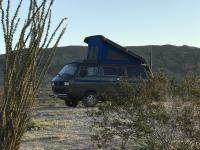 Camping east of San Diego