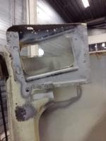 Microbus front door welding