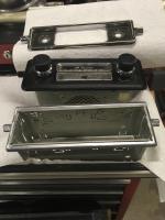 Larger radio faceplate