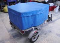 Besco Folding suitcase trailer