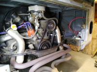 1964 kombi motor install