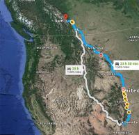 Santa Fe to Banff