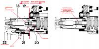 cutaway of decoupler and normal nosecone