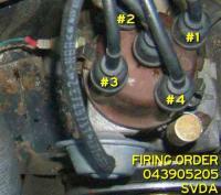 Firing order SVDA/ DVDA