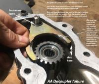 Decoupler failure