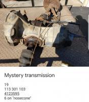 Mystery transmission