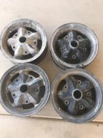 Rare American racing torque thrust D spoke magnesium wheels