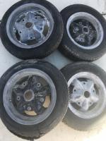 Rare American racing torque thrust D spoke magnesium wheels