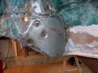 74 super steering box mount