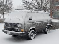 Syncro in the Denver Blizzard