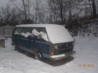 Vanagon in the snow