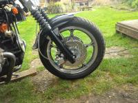 VW bike front brake upgrade