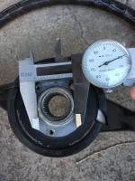 1971 steering wheel hub lip diameter