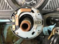 Steering wheel/horn