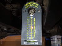 Syncro driveshaft alignment tool
