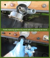 Replacing ignition key barrel in our 1971 Ghia
