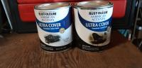 I mixed 50/50 parts of Rust-Oleum for tins