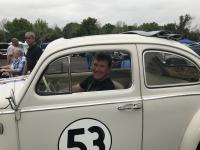 Dewey in Disney Herbie