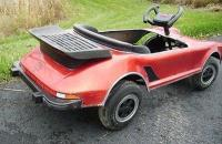 Porsche 911 Turbo pedal car