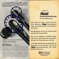 Hazet ratchet 916 changes between 1932 and 1933