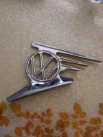 Flying Vw hood ornament.