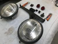 Assembly, Headlights, semaphores, wiper assembly, etc