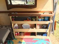 cabinet at bulkhead