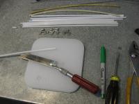 Refurbish Flap Cable, Rear footwell heat vent
